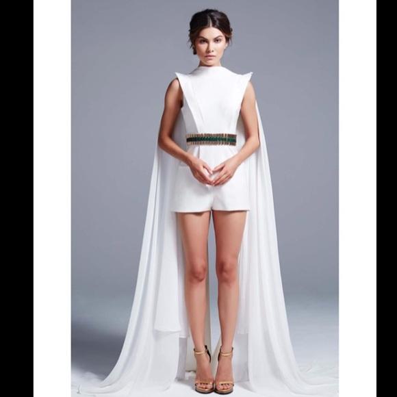 bf1ebea4223 Mac Duggal Dresses   Skirts - Ieena for Mac Duggal Belted train jumper 30256